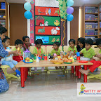 Pet Tea Party by Playgroup Section 2017-18 at Witty World, Bangur Nagar