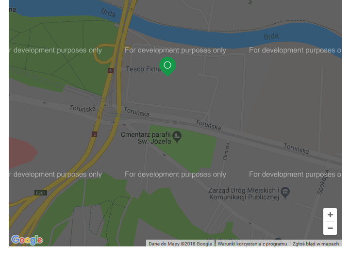 Google maps - for development purpose only. - Google Maps Help on information only, drawing of only, index of only,