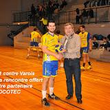 Seniors masculins 1 contre Varois (18-01-14)