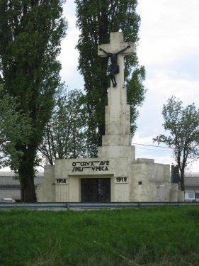 Nog een herdenkingsmonument, dit keer voor alle Belgische gesneuvelden van de Eerste Wereldoorlog.