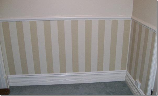 Pittura a strisce orizzontali - Decorare pareti con pittura ...