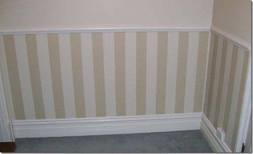Pareti A Strisce Bianco E Nero : Decorare le pareti con strisce dipinte case e interni