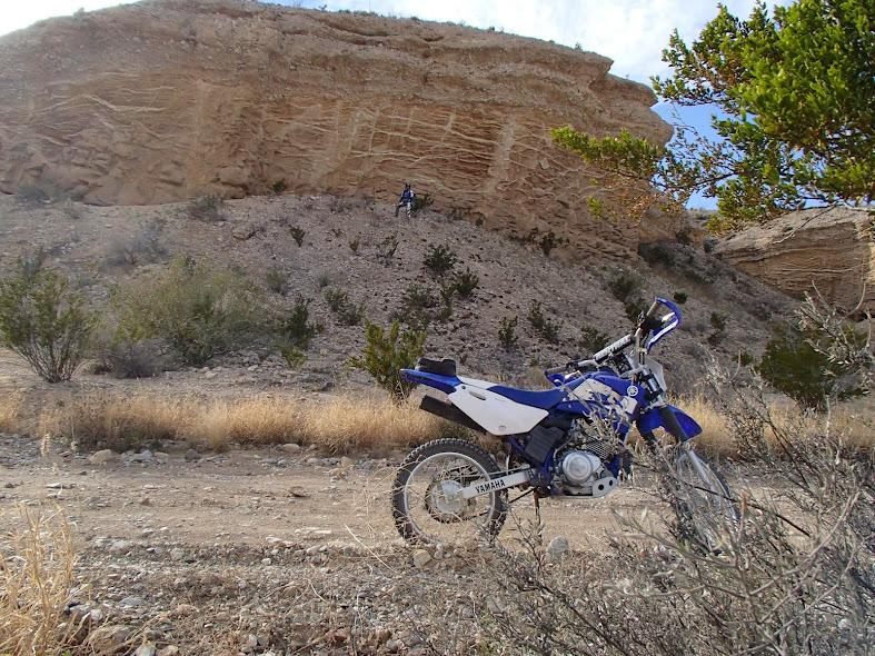 Big Bend National Park: Interesting Geological Formation on River Road East