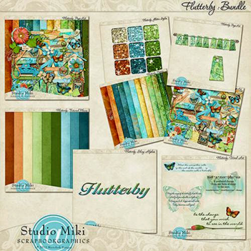 New Flutterby With Studio Miki Huge Collection Limited Intro Sales Pricing Fwp