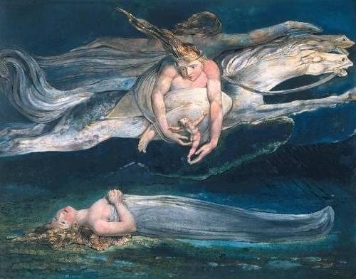 Inspiration Painting By Willaim Blake, William Blake