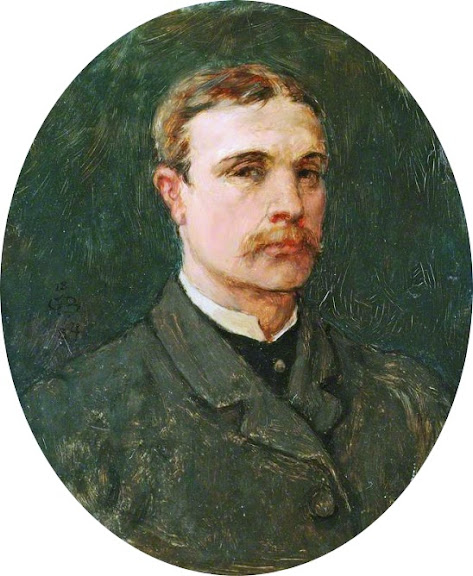 George Henry Boughton - Self portrait (1884)
