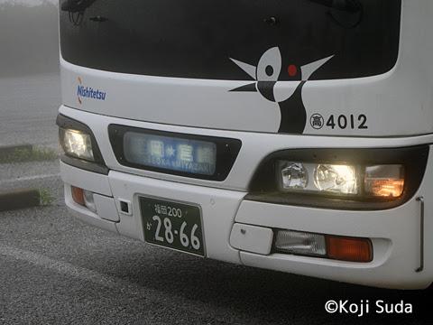 西鉄 4012 平尾台にて_08 宮崎夜行