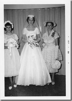 Gayle, Dianne, Muriel 1959