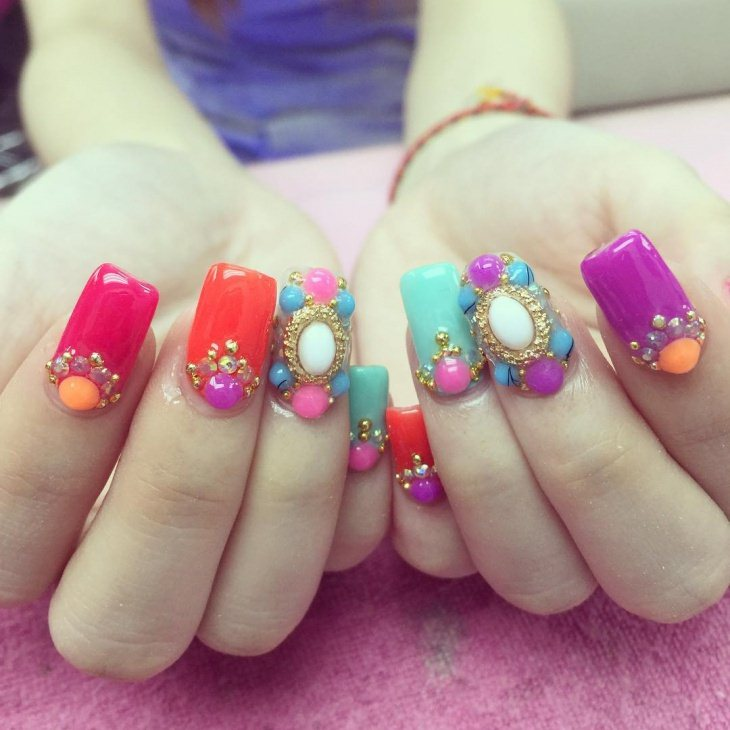 Barbie Nail Art Designs Trends 2017 Styles 7
