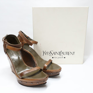 Yves Saint Laurent Rive Gauche Wedges