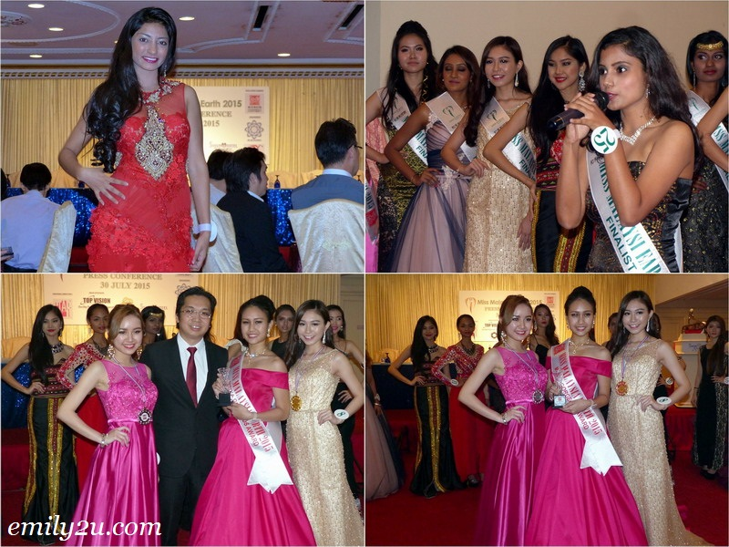 Exclusive Preview Miss Malaysia Earth 2015