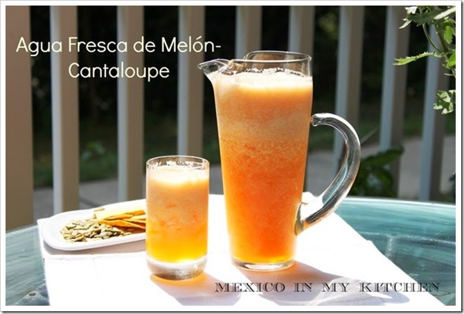 Cantaloupe Agua Fresca | Aguas Frescas