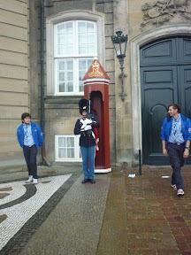 Guardias de La Reina de Dinamarca