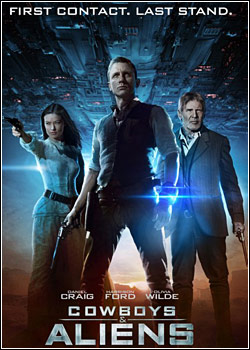 Cowboys e Aliens 480p BRRip XviD   Dual Áudio + Legenda