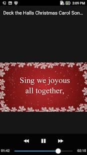 Deck the Halls Christmas Carol Song Offline - náhled