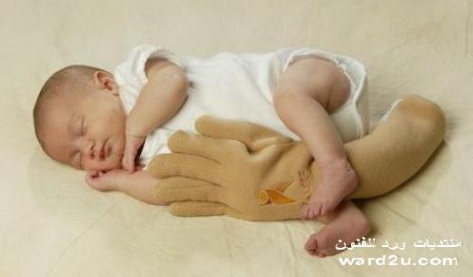 لراحه البيبي عند غياب الام
