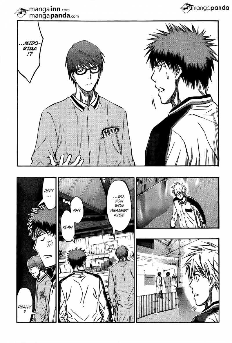 Kuroko no Basket Manga Chapter 203 - Image 17