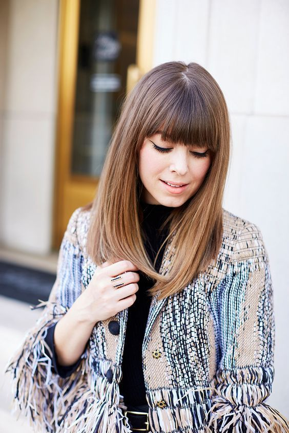 Medium Hairstyles With Bangs 2018 For Women Styles Art