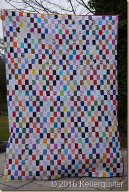 Quilt246-bunte Patches-klein