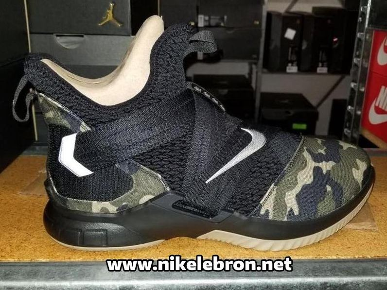 fa9737132183 First Look at Nike LeBron Soldier 12 Hazel Rush ...