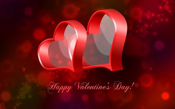 čestitke za valentinovo slike Ljubavne Slike: Čestitka Happy Valentine's Day uz ljubavna srca  čestitke za valentinovo slike