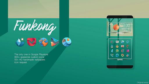 FUNKONG ICONPACK Imagem do Aplicativo