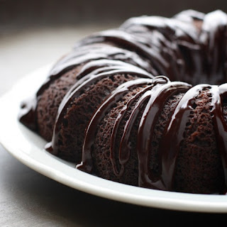 Gluten Free Bundt Cake with Chocolate Ganache