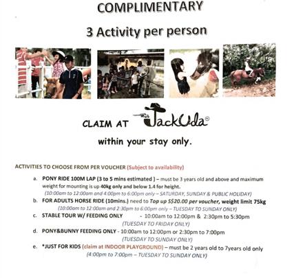 Annaxiu Punggol Ranch - Jackuda voucher
