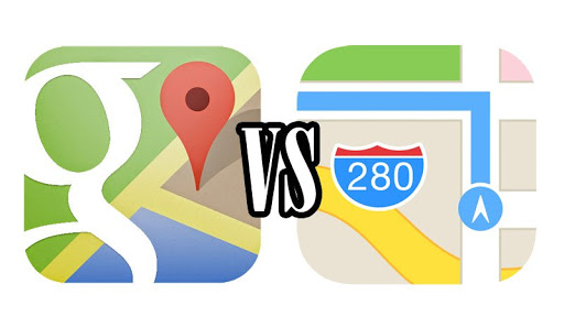 Did You Think Apple Maps Can Compete With Google Maps and Waze?