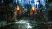 flames fantasy art mortal kombat goro 1920x1080 wallpaper