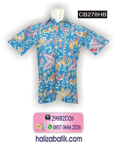 CB278HB Model Batik Kerja, Fashion Batik, Baju Batik Online, CB278HB