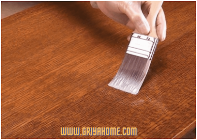 varnish lantai kayu