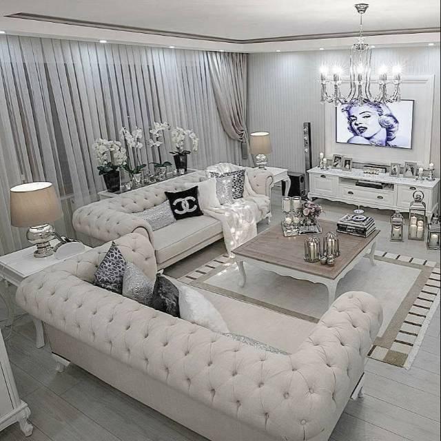 Set Sofa Chesterfield Custom