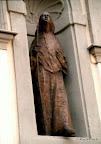 Bamberg, Congregatio Jesu. Mary Ward, Bronze 1996