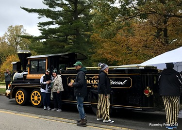 The Boilermakers brought a train!