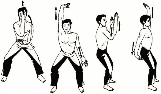 Упражнение № 2 – «Почесать плечом ухо»