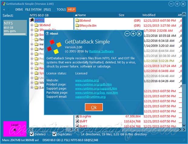 GetDataBack Simple v2.00