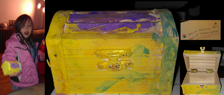 Treasure Chest Birthday Party Favors