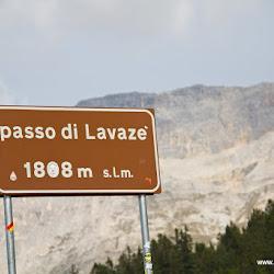 Motorrad Pass Lavazé Joch Passo Lavazé