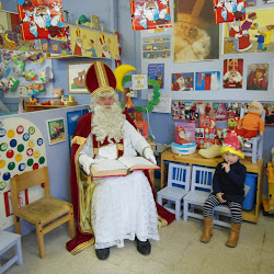 Sint in de klas