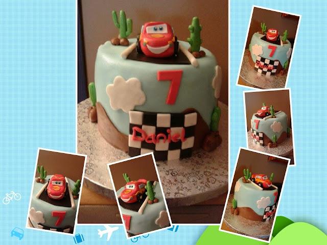 rayo mcqueen cake, tarta rayo mcqueen, tarta cars, cars cake