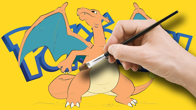 Pokemon Go Charizard Color Book  Pokemon Color Pages
