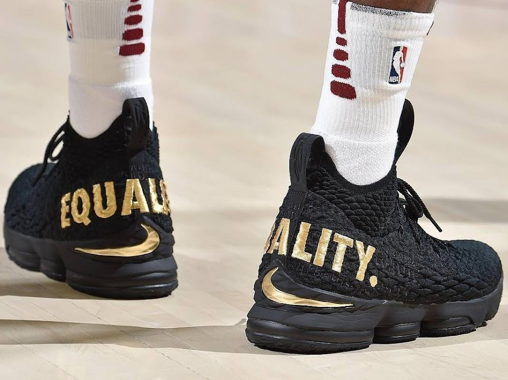 0749b6468abb LeBron James Sends Powerful Message in Nike LeBron 15 ...
