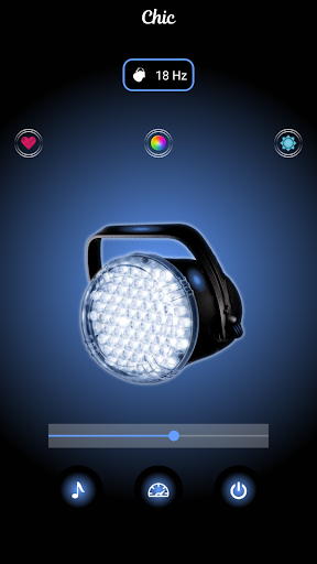 Strobe Light ud83dudea6 LED Flashlight & Music Strobe 1 screenshots 6