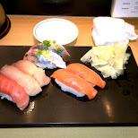 beautiful sushi at Sushi Zanmai in Roppongi in Tokyo, Tokyo, Japan