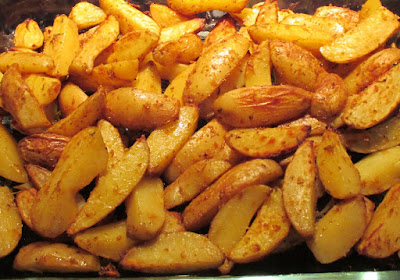 Potatoes au four