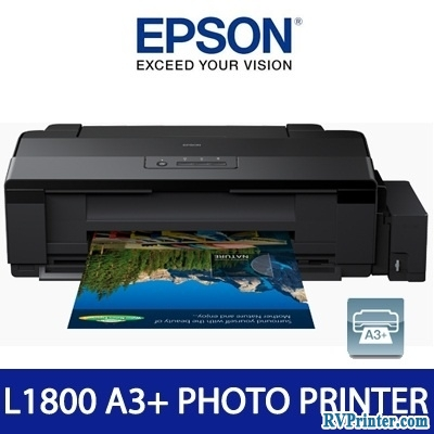 How to fill the tanks of ink in Epson L1800 printers