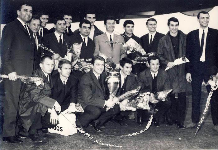 Steaua, European Cup winner. 1968