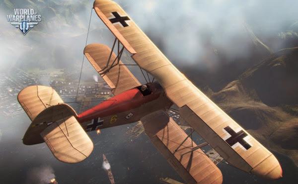 Game không chiến World of Warplanes mở cửa OBT 2