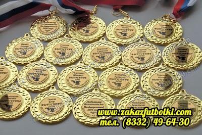 Изготовление золотых медалей Киров